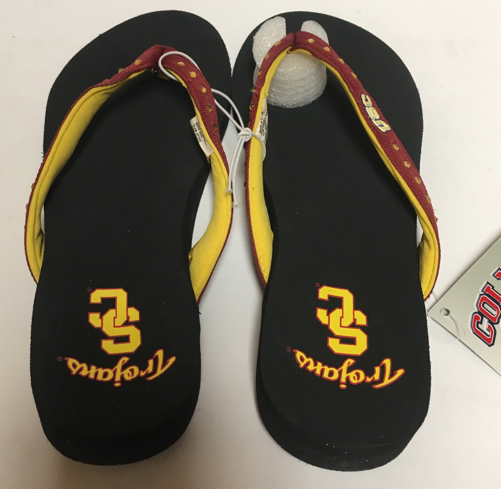 USC Southern California Trojans Women's Flip Flops Sandals Shoes Many Sizes image 3