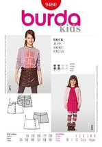 Burda Children's Sewing Pattern 9480 - Skirt Sizes: 4-14 (104-164) - $10.78