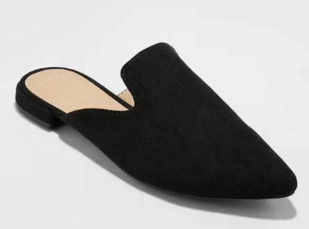 A New Day Women's Velma Slip On Pointy Toe Mules - NWT
