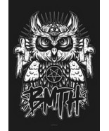 Bring Me The Horizon Poster Flag Owl Logo - $12.99