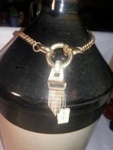 """Vintage Lisner Dangle Necklace 13"""" Original Boutique Tag - $16.34"""