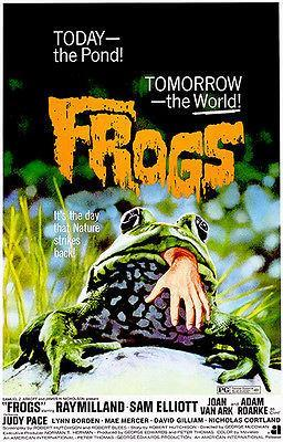 Primary image for Frogs - 1972 - Movie Poster