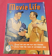 VINTAGE~MOVIE LIFE MAGAZINE ~VOL.13, NO.6, 1950~Hollywood,ROY ROGERS, GE... - $20.78