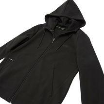 Hugo Boss Men's Sweater Zip Up Hoodie Sweatshirt Track Jacket Black image 3