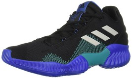 Adidas Men's Pro Bounce 2018 Low Basketball Shoes, Black/Grey/Blue, 11 M US - $62.27