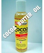 AFRICAN ANGEL NATURAL COCOA BUTTER OIL HAIR, BODY OILS 4 FL OZ  - $3.99