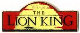 The Lion King Movie Title Banner Authentic Disney pin/pins - $24.99