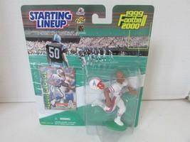 NFL Hasbro 1999 Eddie George Figurine Articulée L227 - $8.76