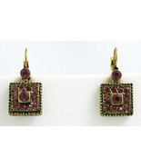Deco Style Earrings Swarovski Crystals Reproduction - $38.99