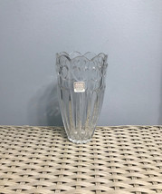 Fifth Avenue Crystal LTD Sweet Heart 24% Lead Crystal Vase Made in the USA - $12.50