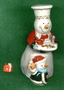 Primary image for TWO SNOWMAN HINGED BOX