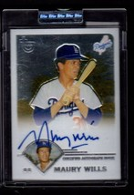 Maury Wills 2003 Topps Retired Certified Issue Signed Autograph Card - $10.84