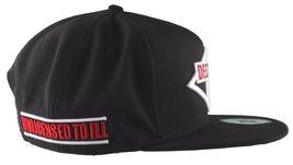 Dissizit! Mens Black New Era DeeZeeTee Boys Hip Hop Snapback Baseball Hat NWT image 3