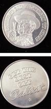 Sealtest Ice Cream Bat Masterson TV Show Mardi Gras Coin - $19.99