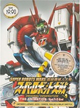 Super Robots Wars Anime DVD Ship from USA