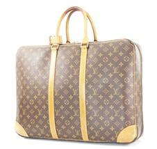Auth LOUIS VUITTON Sirius 24 Heures Monogram Suitcase Travel Business Ba... - $495.00