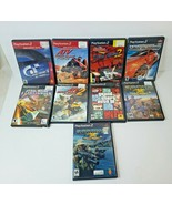 Lot 9 Playstation 2 PS2 Driving Racing Games - Need for Speed, GTA III, ... - $27.76