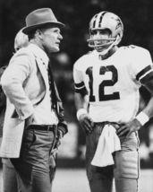 Tom Landry Roger Staubach Cowboys SFOL 8X10 BW Football Memorabilia Photo - $6.99