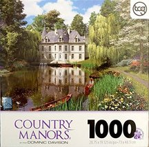 Sure-Lox Country Manors Series By Artist Dominic Davison - 1000 Piece Pu... - $24.49