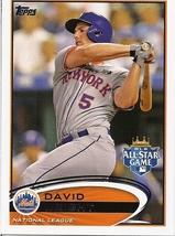 Mets Baseball Cards 2012- Wright, Ramirez, and Edgin - $2.50
