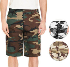 Men's Casual Military Army Camo Camouflage Tactical Utility Cargo Shorts