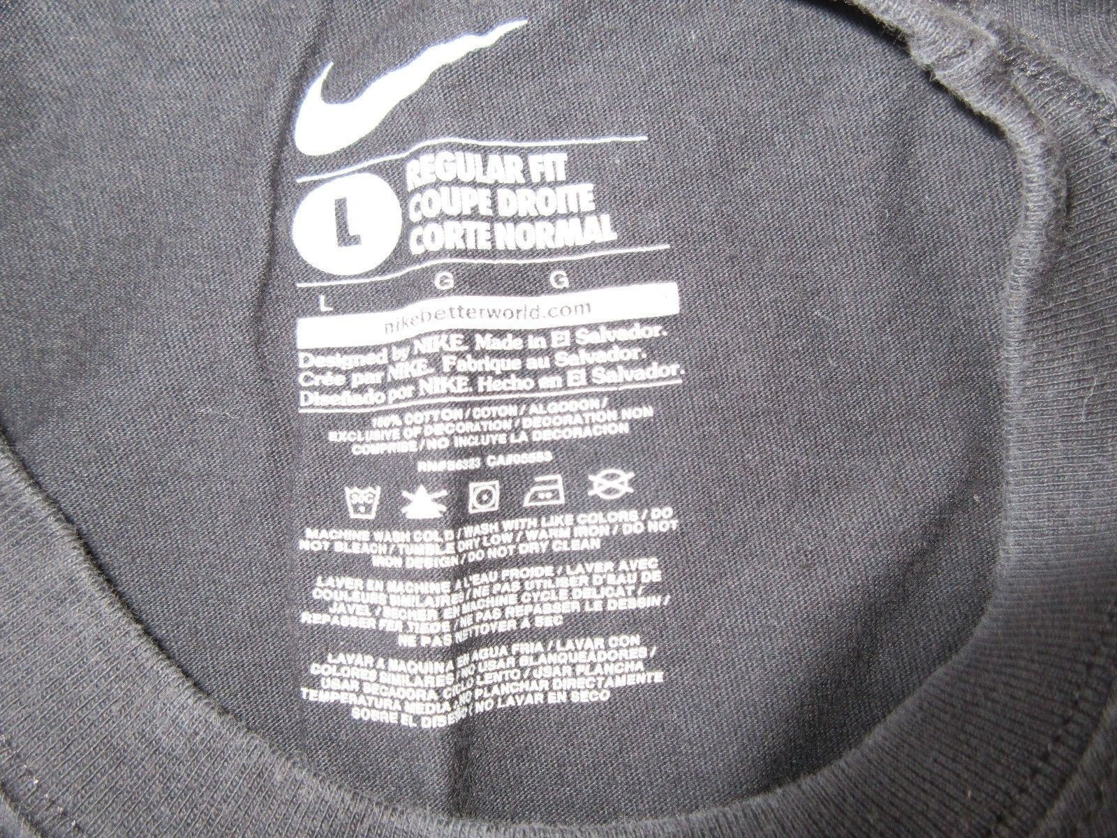 size 40 646d5 90cd7 Nike T-Shirt , JUST DO IT , Regular Fit , Large , 100 %