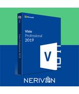Microsoft Visio 2019 Professional 32/64 Bit Key - $29.99
