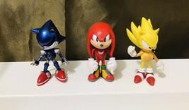 "Sega Jazwares 3"" Sonic the Hedgehog Poseable Mini-Figures - $74.25"