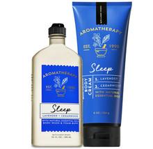 Bath & Body Works Lavender + Cedarwood Body Cream + Body Wash Duo Set - $34.95