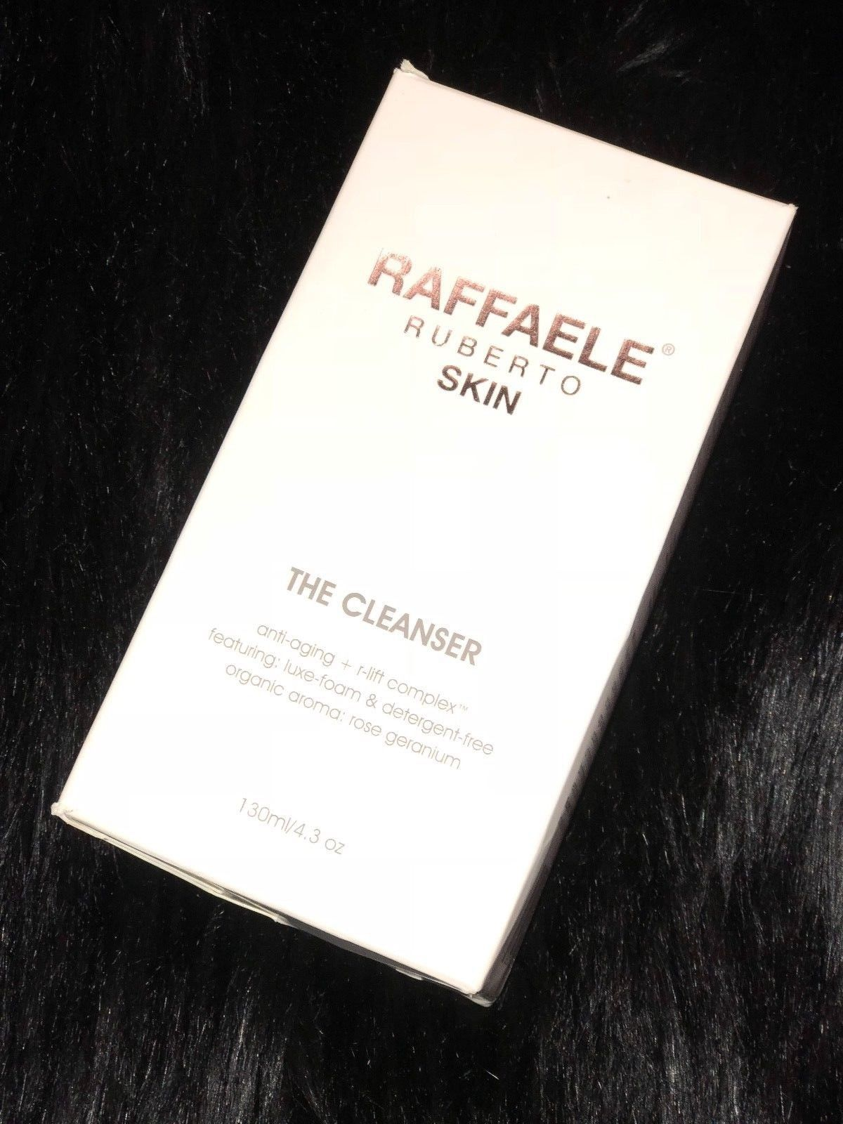 Primary image for NEW IN BOX 'THE CLEANSER' FOAM ANTI-AGE ROSE GERANIUM 4.3OZ ESSENTIAL OILS SCENT
