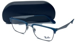 Ray-Ban Unisex Blue Silver Metal Glasses with case RB 6397 2934 52mm - $139.99