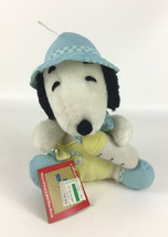 "Knickerbocker Baby Snoopy Dog Peanuts 9"" Plush Stuffed Toy Vintage 1968 w Tags - $44.50"