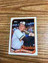 Joe Orsulak, Baltimore Orioles, Topps, #727, 1989 - $1.50