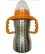 RIANZ Thermal Insulation Stainless Steel Baby Feeding Bottle - 290ml mul... - $32.67
