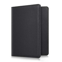 Fintie Passport Holder Travel Wallet RFID Blocking PU Leather Card Case ... - $8.77