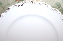 """Orleans 8.25"""" Salad Plate Fine Bone China Gilt Made in England by Royal Albert - $34.60"""