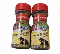 (2) McCormick Perfect Pinch Lemon & Pepper Seasoning 3.5 oz BB 2/22 - $19.79