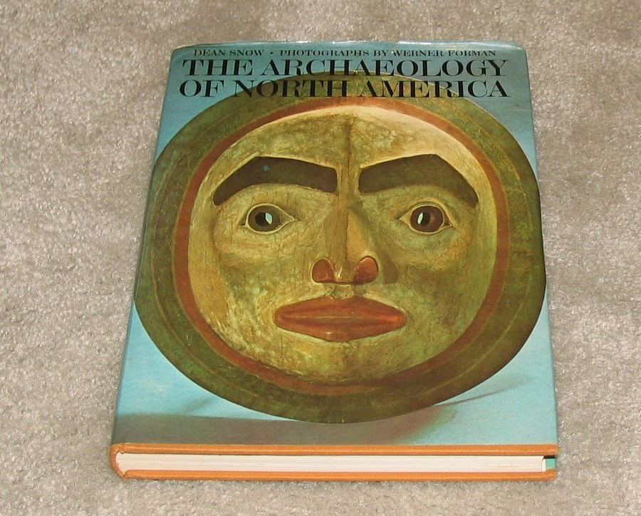 Primary image for Archaeology of North America 1976 Vintage Collectible Hard Cover Book