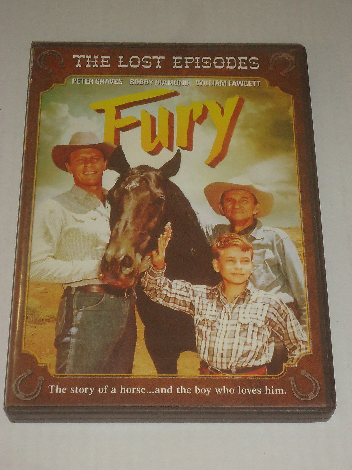 Primary image for FURY THE LOST EPISODES Peter Graves Bobby Diamond Wiliam Fawcett 3 DVD's