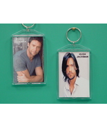 Hugh Jackman 2 Photo Designer Collectible Keychain - $9.95