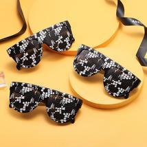 Sexy square sunglasses ladies fashion python pattern oversized sunglasses men an image 5