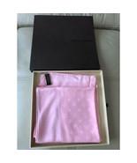 Louis Vuitton Scarf Carre Monaco 90 cm Silk Monogram Purple R - $315.81