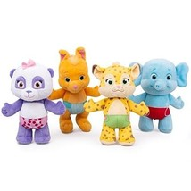 "Snap Toys Word Party 7"" Plush Baby Animals, 4 Pack - Lulu, Bailey, Frann... - $68.74"