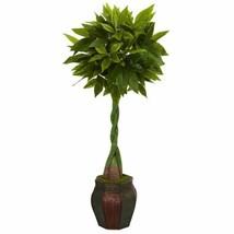 Luxury Multicolor 5? Money Artificial Tree in Decorative Planter  - 5 Ft. - $252.26