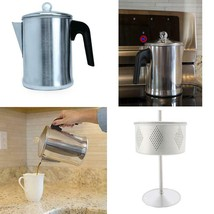 Stovetop Percolator Heavy Duty Yosemite Coffee 9 Cup Perculator - $35.20