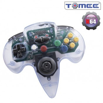 Nintendo 64 Tomee Controller (Clear) New In The Box