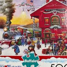 Buffalo games wysocki whistle stop christmas 500 piece puzzle - $11.38