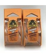 """Gorilla Heavy Duty Clear Packing Tape 2 Pack 1.88"""" x 25 yards Dispenser  - $16.99"""