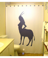 Sexy female oryx shower curtain  75 thumbtall