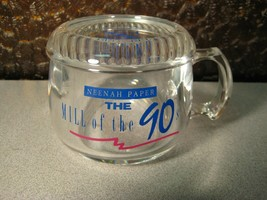 """""""The Mill of the 90s"""" Neenah Paper Advertising Mug with Coaster - Acrylic - $7.54"""